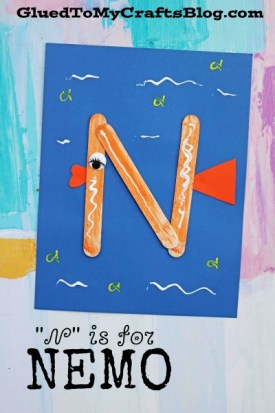 """""""N"""" is for Nemo - Kid Craft"""