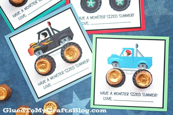 Have A Monster Sized Summer - Free Printable