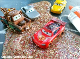 Cars 3 Inspired Slime – No Borax Recipe