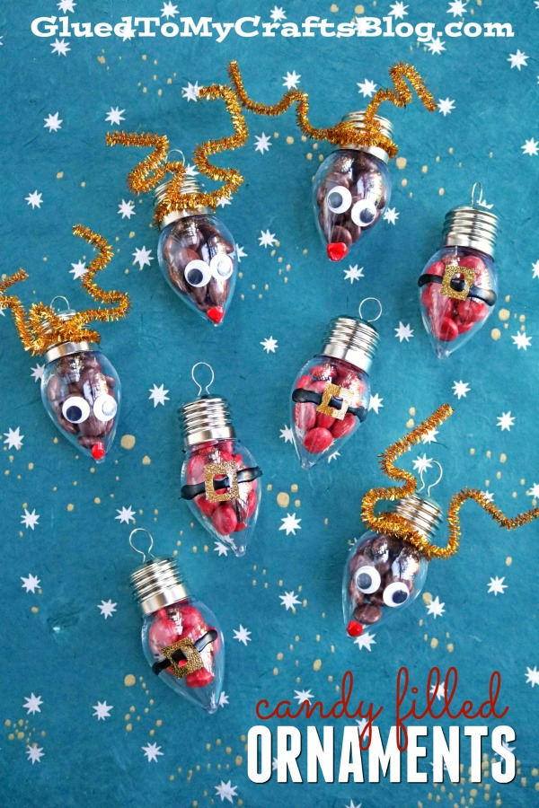 Mother S Day Crafts With Clear Plastic Ornaments