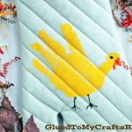 Diy Handprint Turkey Potholder Thanksgiving Kid Craft