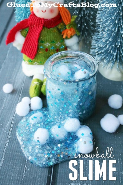 Wintery Snowball Fight Slime