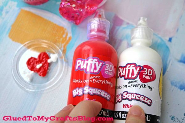 Super Easy Valentine's Day Slime Party Favors