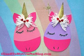 Craft Foam Egg Unicorn – Kid Craft