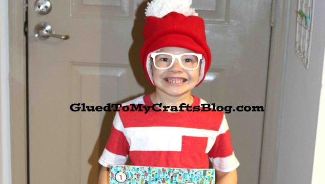 Simplest Where's Waldo Costume - Literacy Week