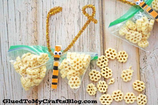 Honeycomb Bee Themed Classroom Snack Idea
