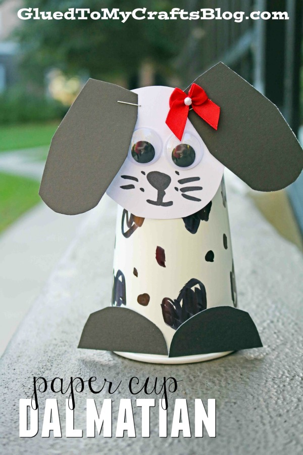 Paper Cup Dalmatian - Kid Craft