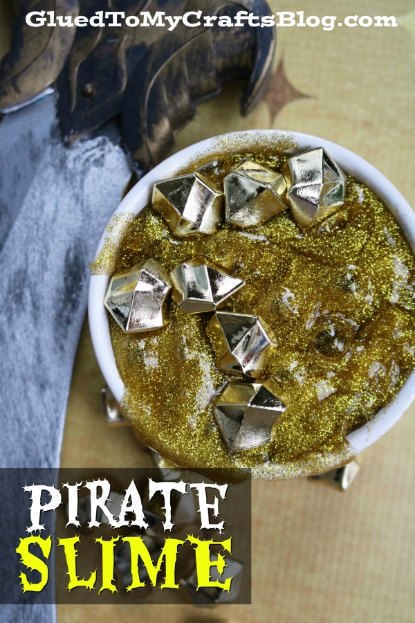 Pirate Booty Slime - Kid Craft
