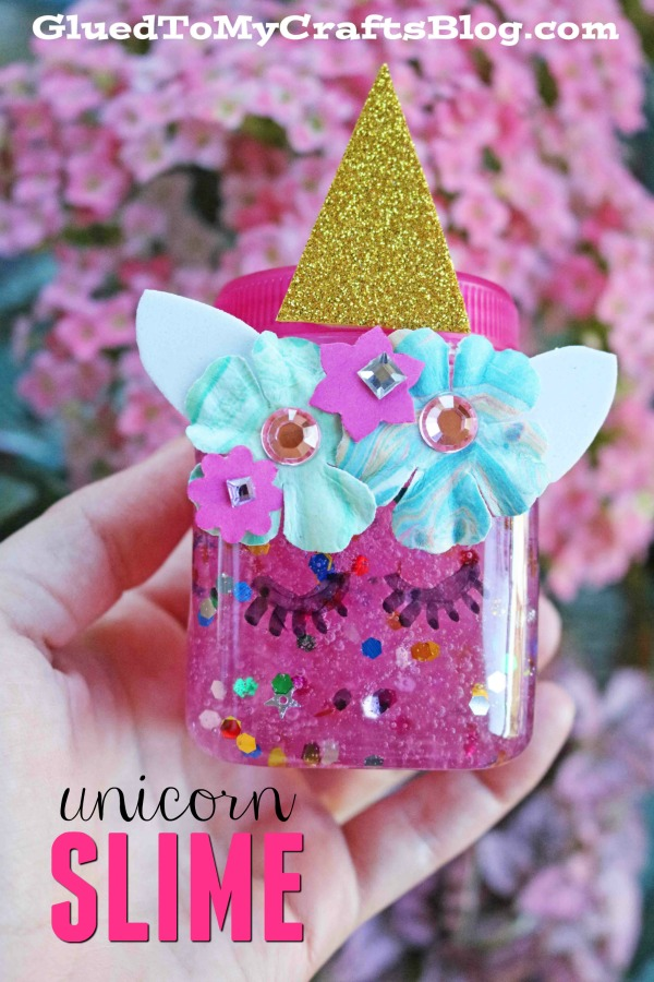 The Easiest Unicorn Slime & Container