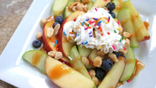Kids In The Kitchen - Dessert Apple Nachos