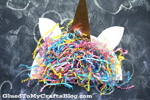 Shredded Paper Unicorn Hair - Kid Craft