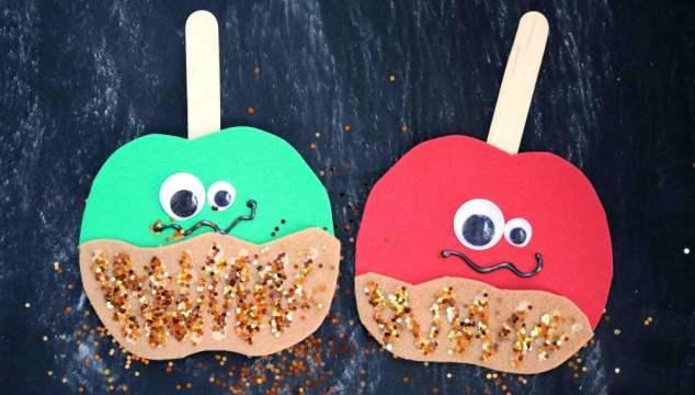 Caramel Apple Friends - Kid Craft
