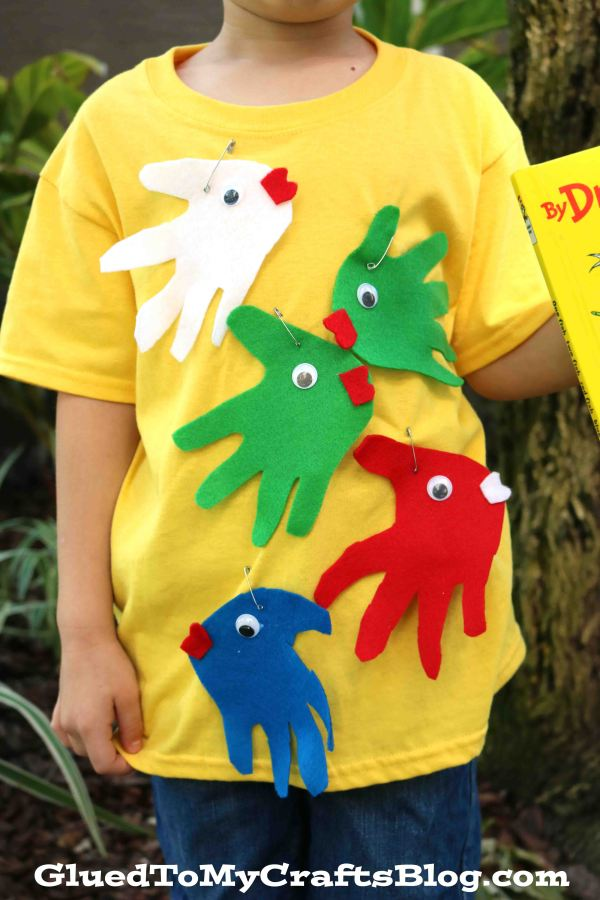 Simplest One Fish Two Fish Costume - Dr Seuss