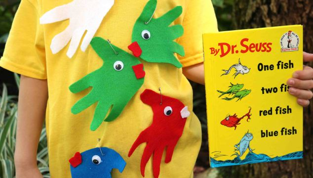 Simplest One Fish Two Fish Costume – Dr Seuss
