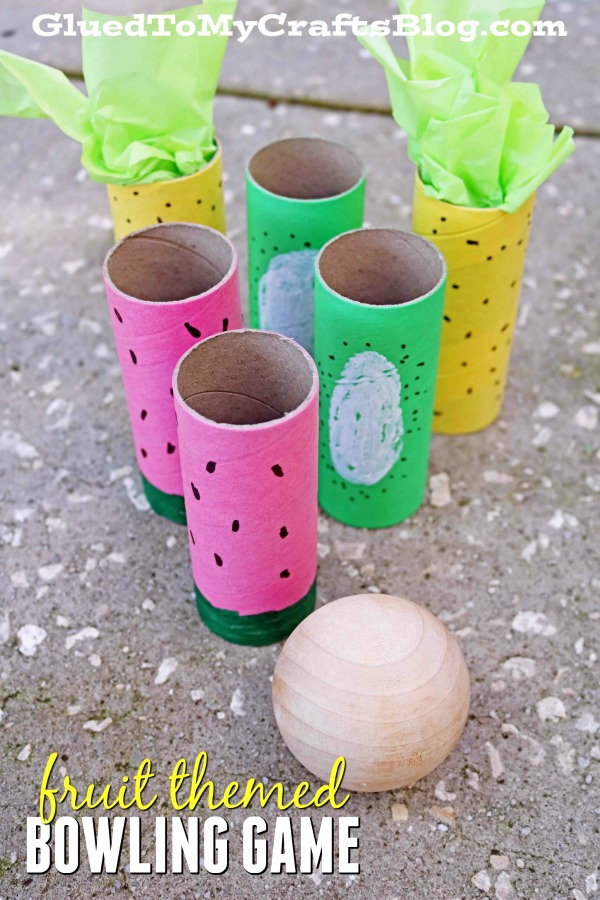 DIY Fruit Themed Bowling Game
