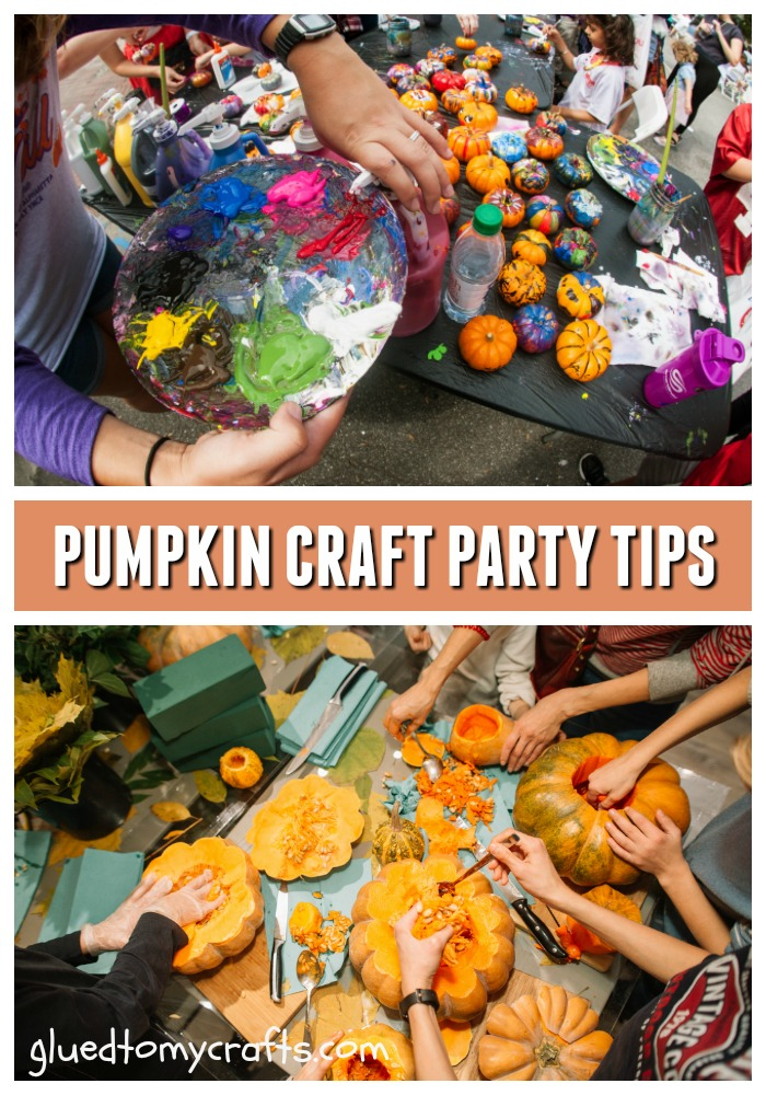 Host A Pumpkin Decorating Party