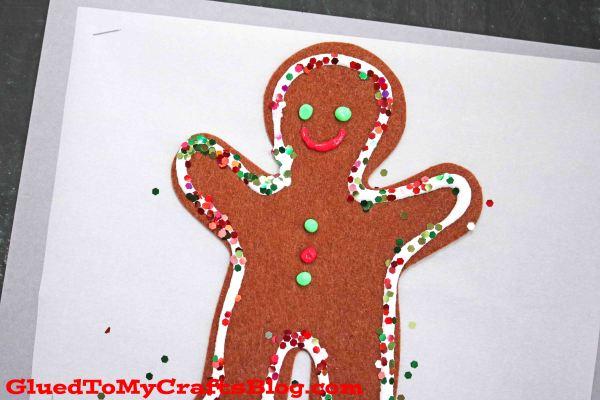 Christmas Cookie Sheet - Mixed Media Kid Craft