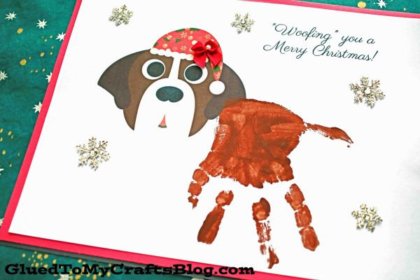 Woofing You A Merry Christmas - Santa Paws Keepsake