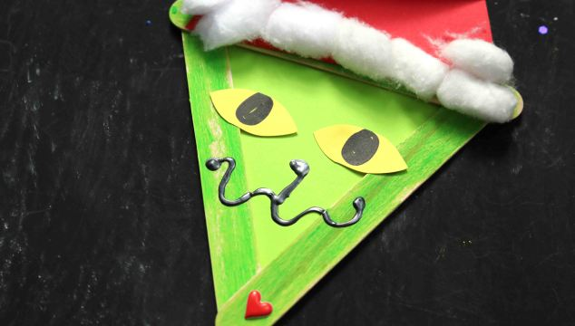 Popsicle Stick Grinch & Friends – Kid Craft