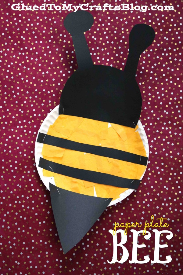 Paper Plate Honey Bee {Kid Craft}