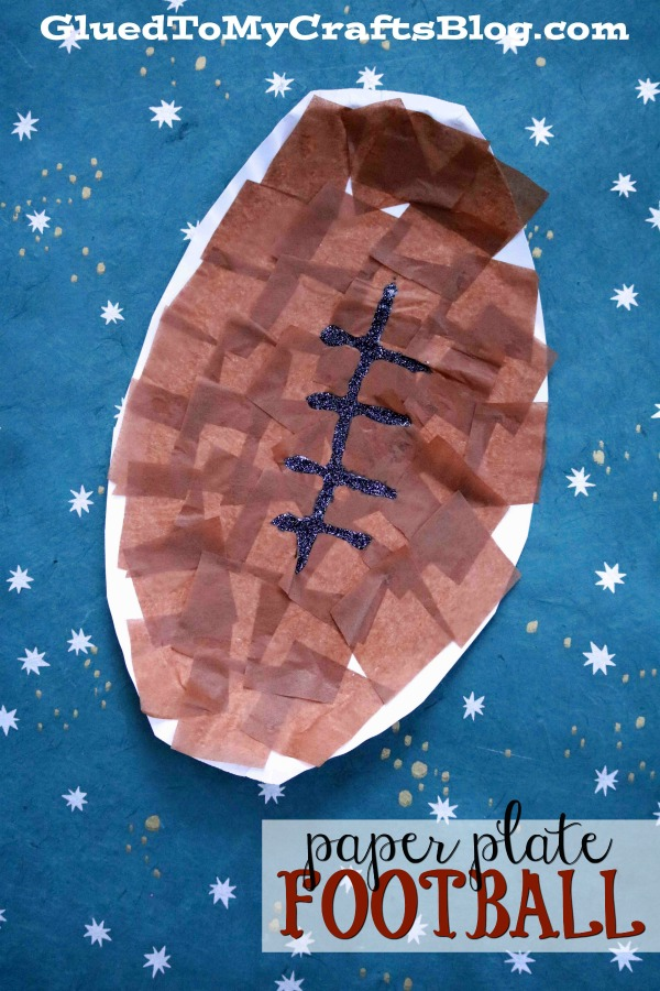 Paper Plate Football {Kid Craft}