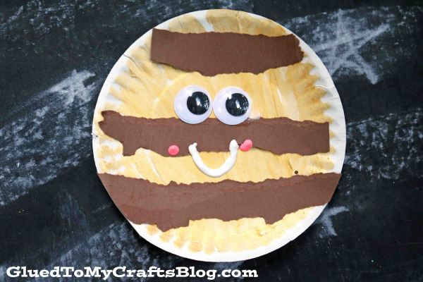 Paper Plate Samoa Cookie Friends - Kid Craft