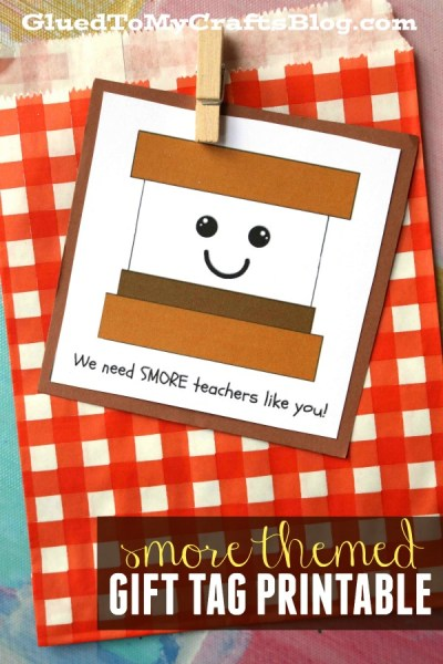 Smore Teachers Like You Gift Tag Printable