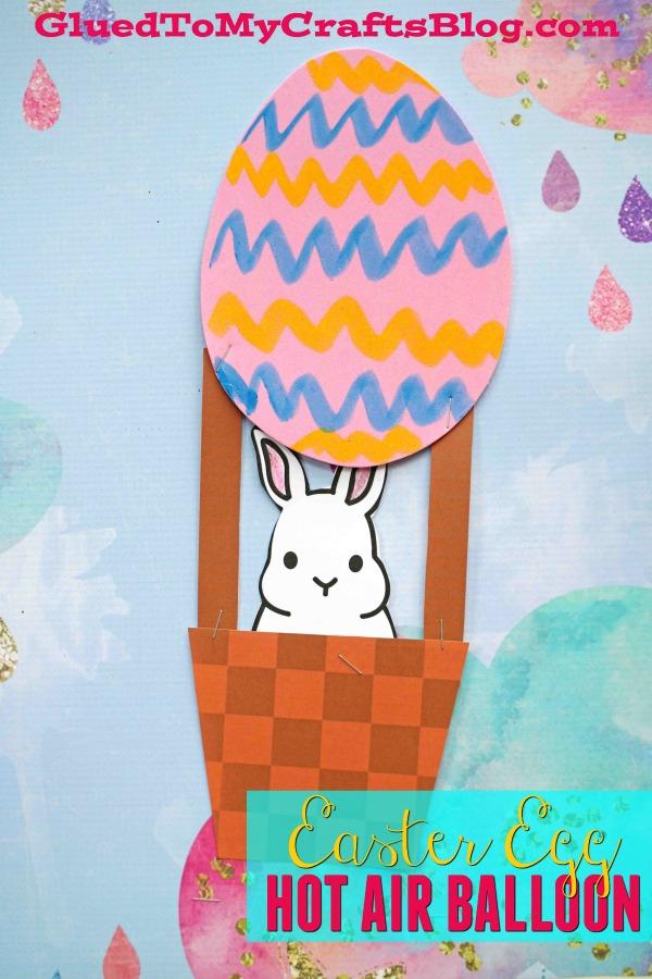 Easter Egg Hot Air Balloon - Kid Craft