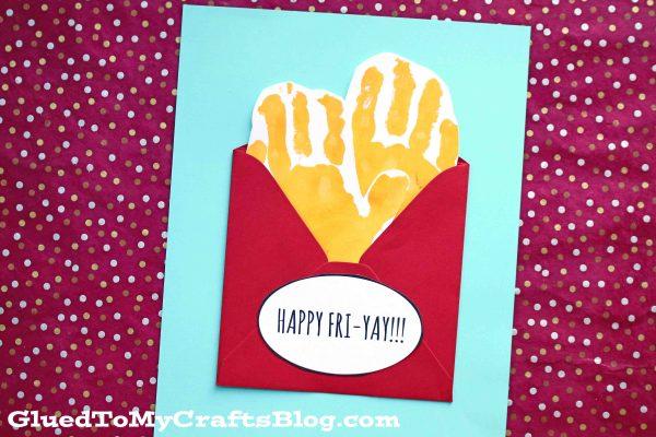 FRI-YAY Handprint French Fries - Kid Craft