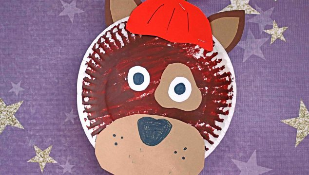 Trick-O-Treater Dog - Kid Craft