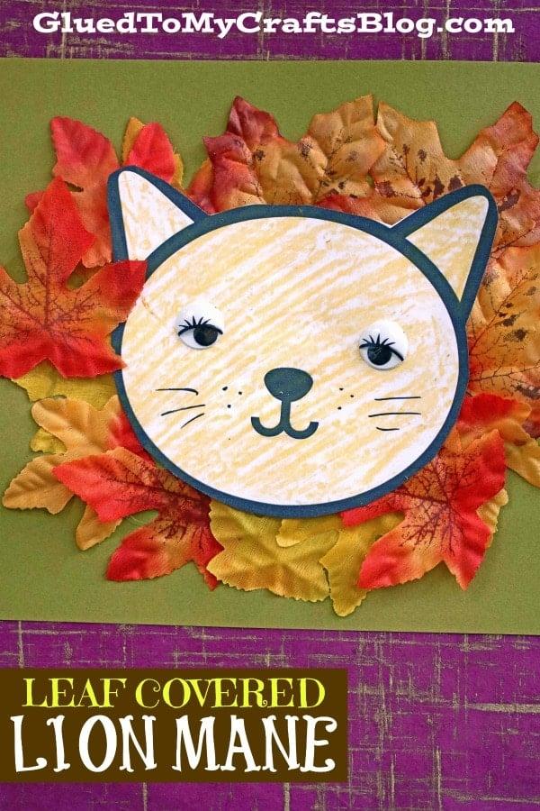 Leaf Lion Mane - Kid Craft