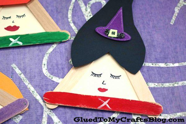 Popsicle Stick Sanderson Sisters - Kid Craft