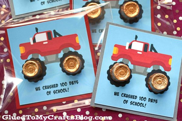 We Crushed 100 Days of School - Gift Tag