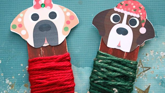 Holiday Dogs In Sweaters - Kid Craft