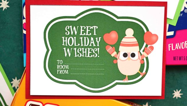 Christmas Candy Grams - Free Gift Tag Printable