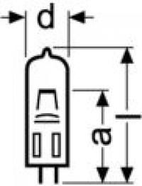 gluehbirne.ch - OSRAM 64223 Halogen Photo Optic Lamp, 6V ...