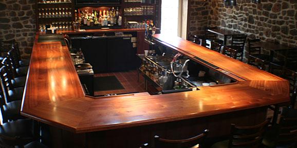 Wood Bar Tops