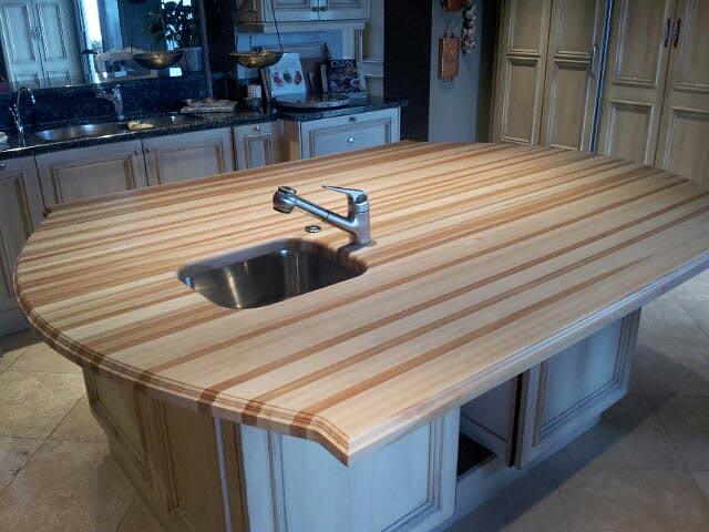 Beech Wood Countertop In San Antonio Texas