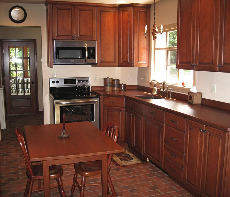 Custom Cherry Wood Counters Oakmont Pennsylvania Grothouse