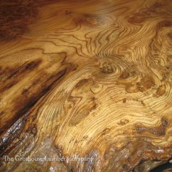 Overmount Kitchen Sink The Honest Dog Food Reviews English Wych Elm Live Edge Wood Countertop In Wisconsin