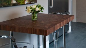 Custom Butcher Block Dining Tables, Kitchen Tables And