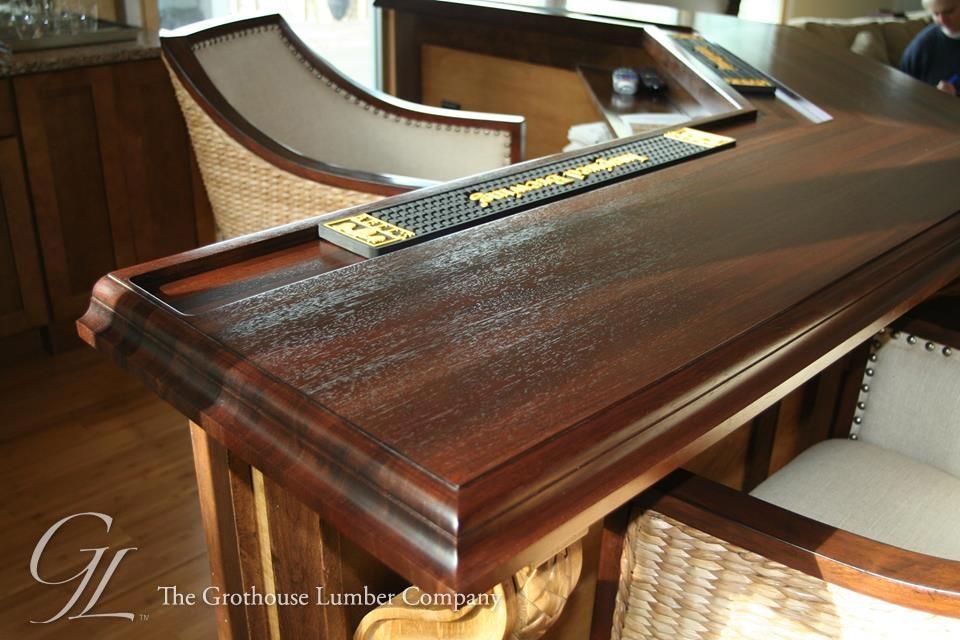 Walnut Wood Bar Top