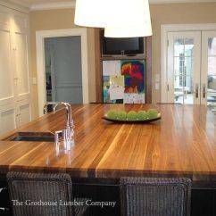 Kitchen Sinks With Drainboards Kitchens Ideas Custom Walnut Wood Countertop In Boston, Massachusetts