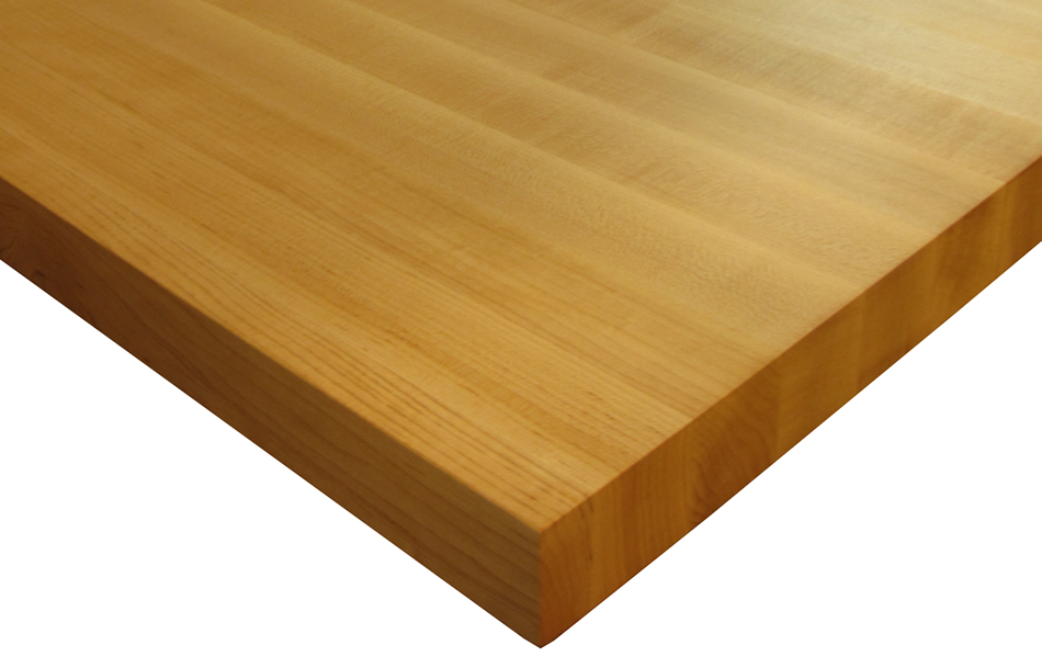 cherry wood kitchen island wheels custom countertops edge grain by grothouse