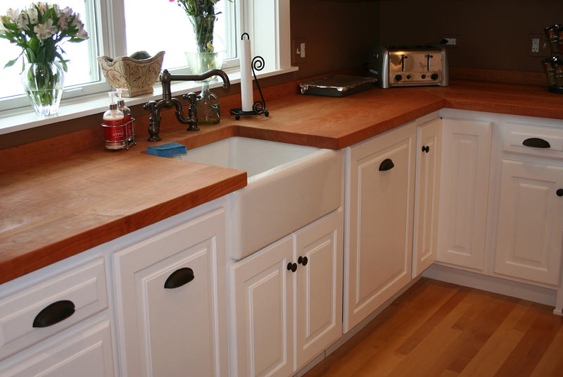 kitchen counter tops prefab outdoor grill islands wood countertops by grothouse cherry in chicago