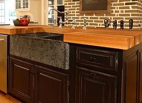 kitchen island with butcher block remodeling nj white oak wood countertop, bar top