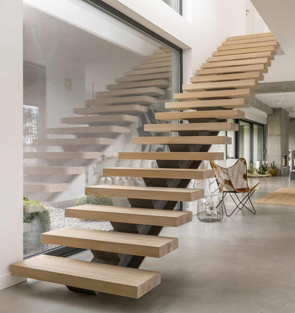 Custom Wood Stair Treads Manufacturer | Real Wood Stair Treads | Vertical Bamboo Stair | Replacement | Acacia | Self Adhesive | Riser