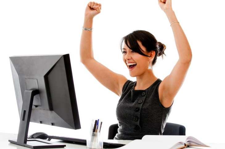 happy people success