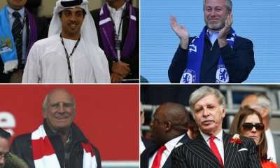 richest football club owners in the world.