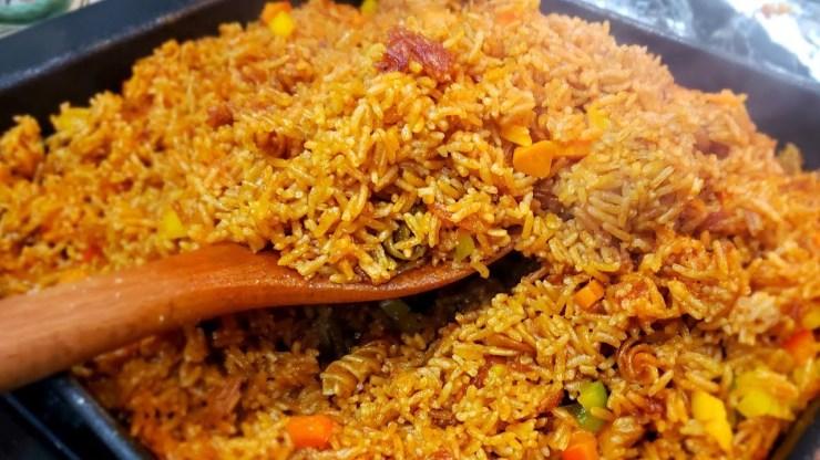 Ghana is Known For Jollof rice